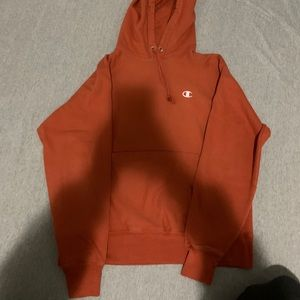 Burnt Orange Champion Sweatshirt